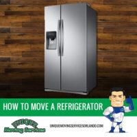 orlando moving company refrigerator