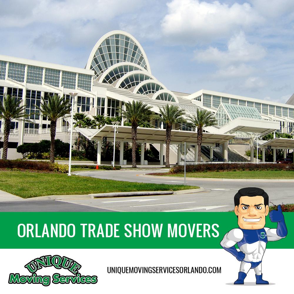 Orlando Trade Show Movers Orlando Moving Companies